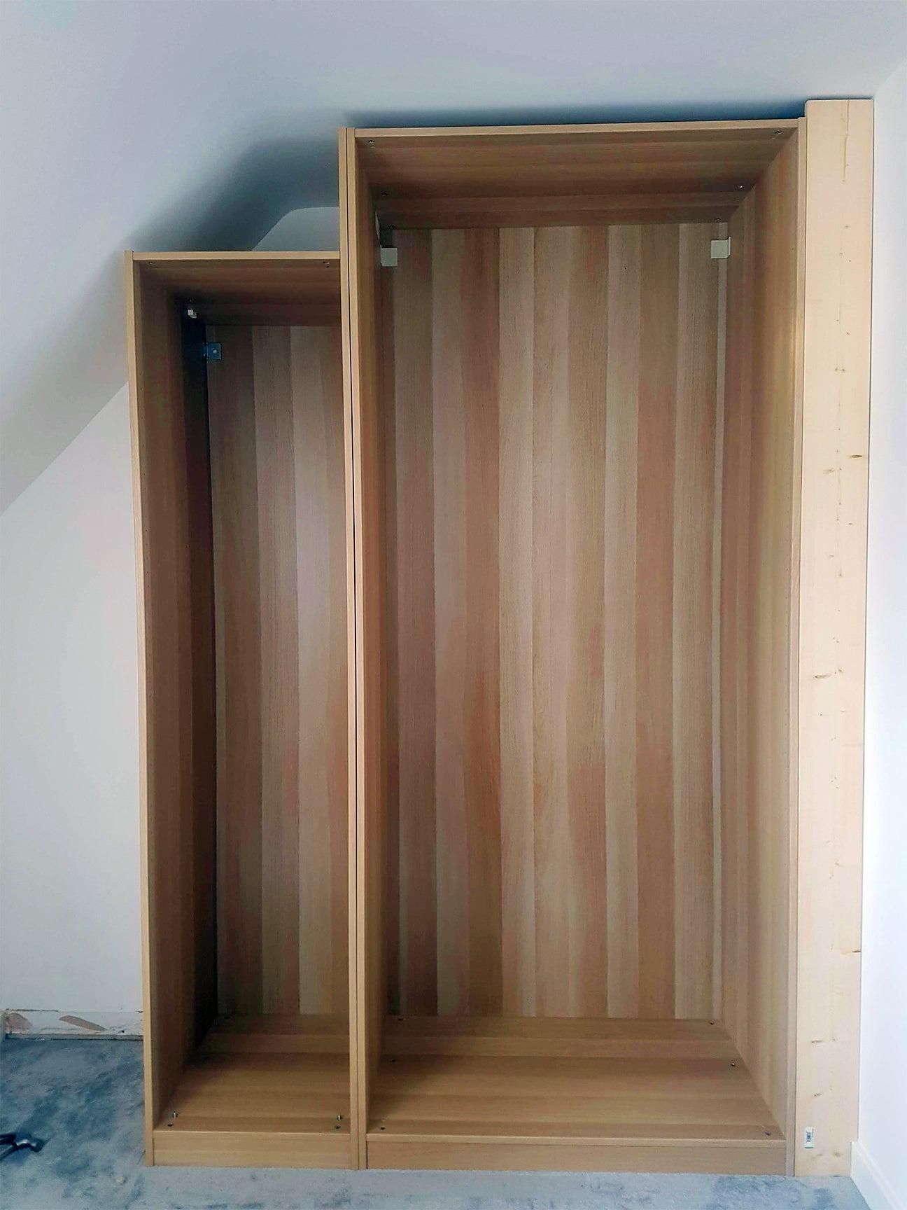 custom closet installation process