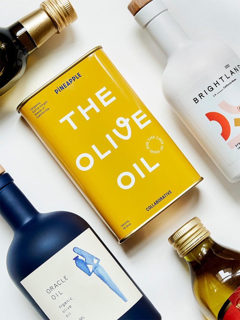 trendy olive oils
