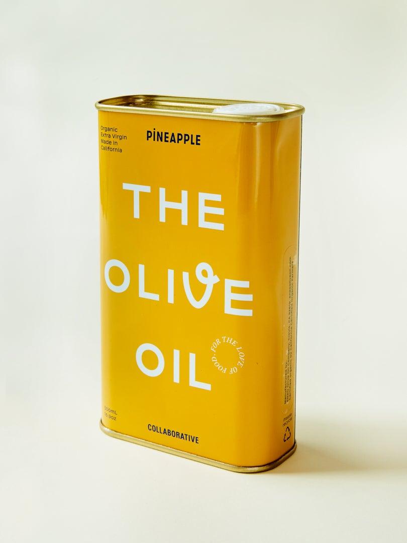 pineapple collaborative olive oil