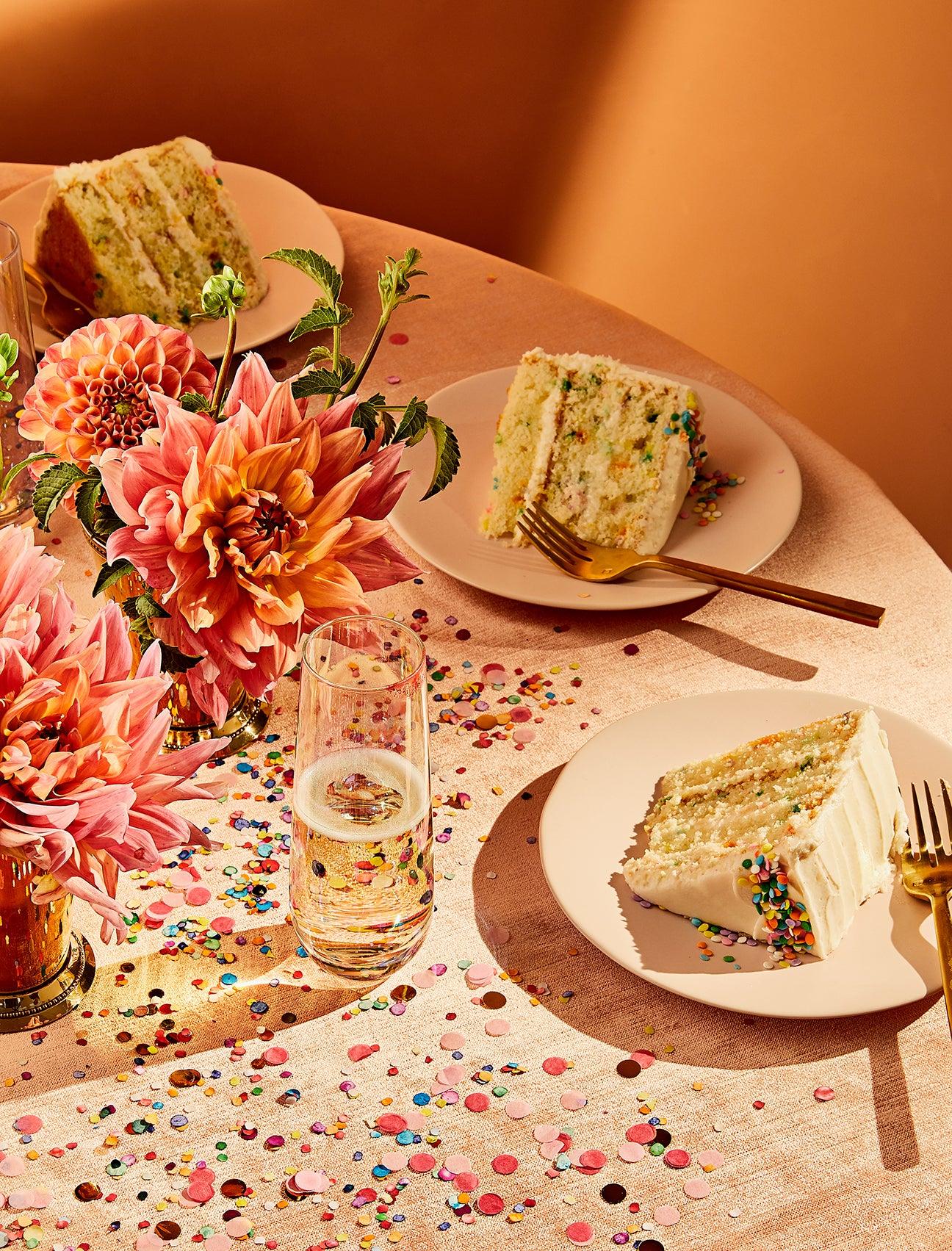 cake on plates