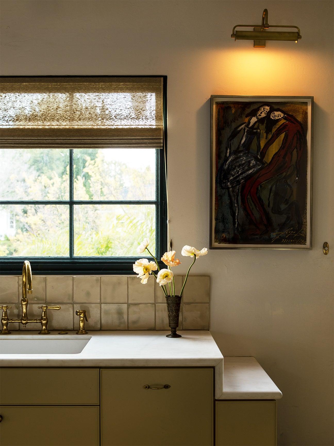 kitchen counter ledge