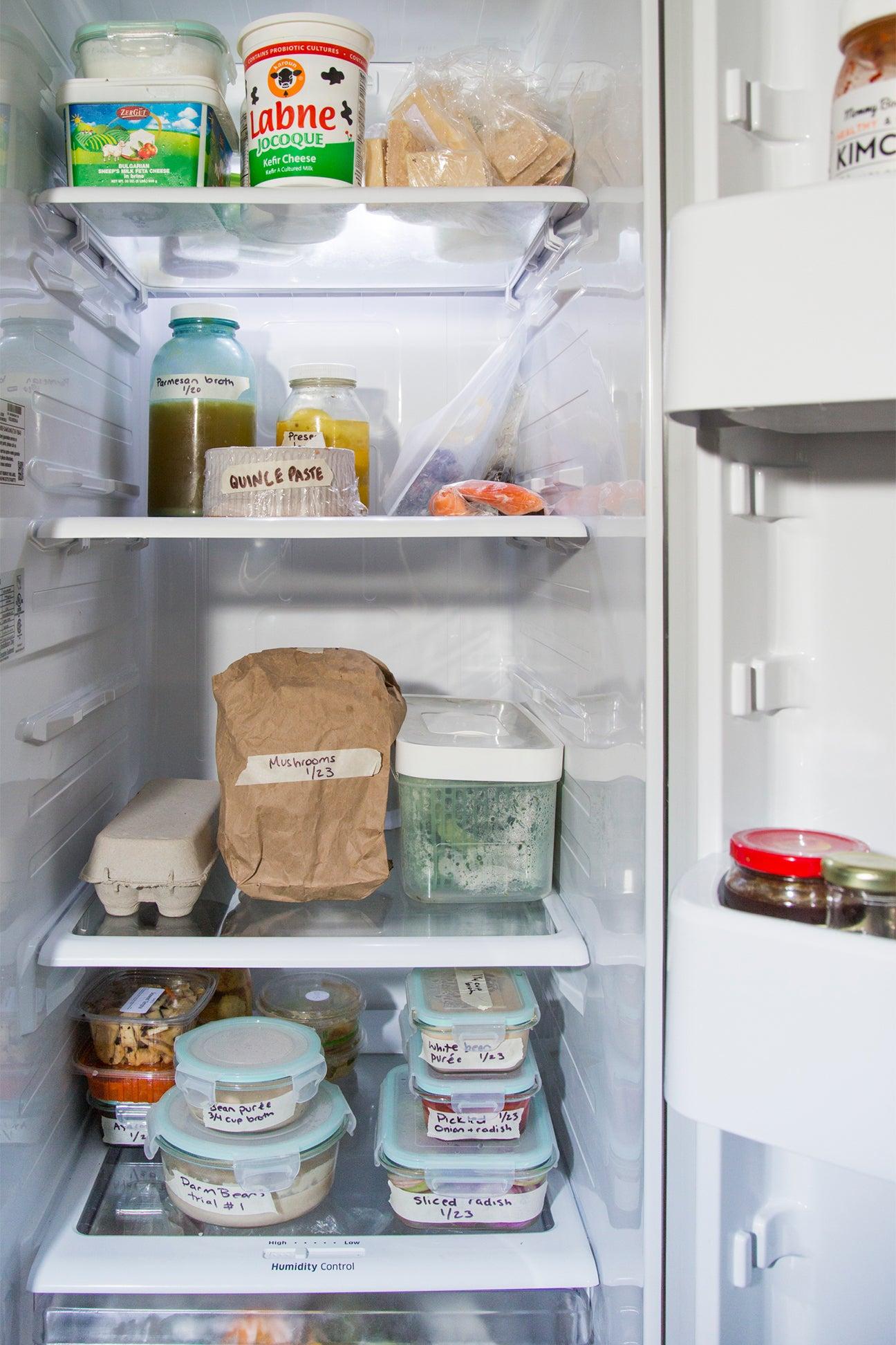 Julia Sherman's fridge