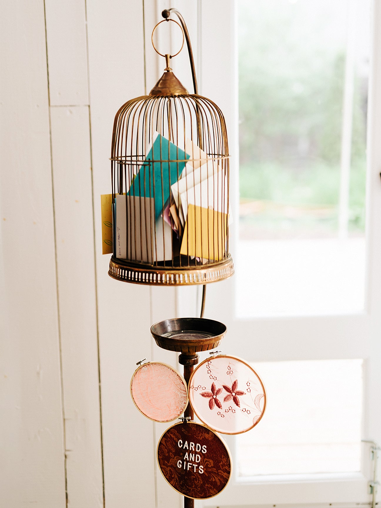 letters in a bird cage