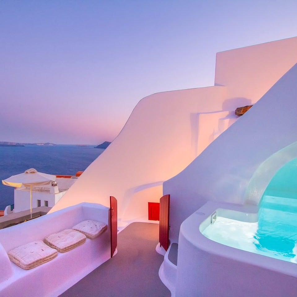 Luxurious Greek home
