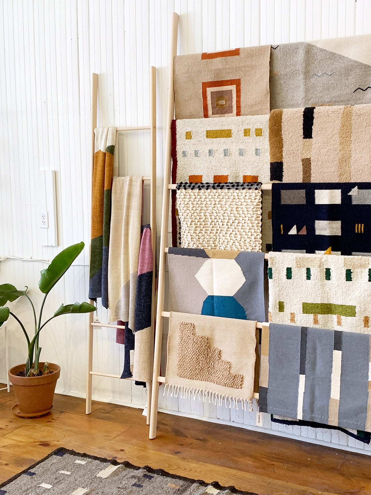 Textiles in MInna's Hudson Store