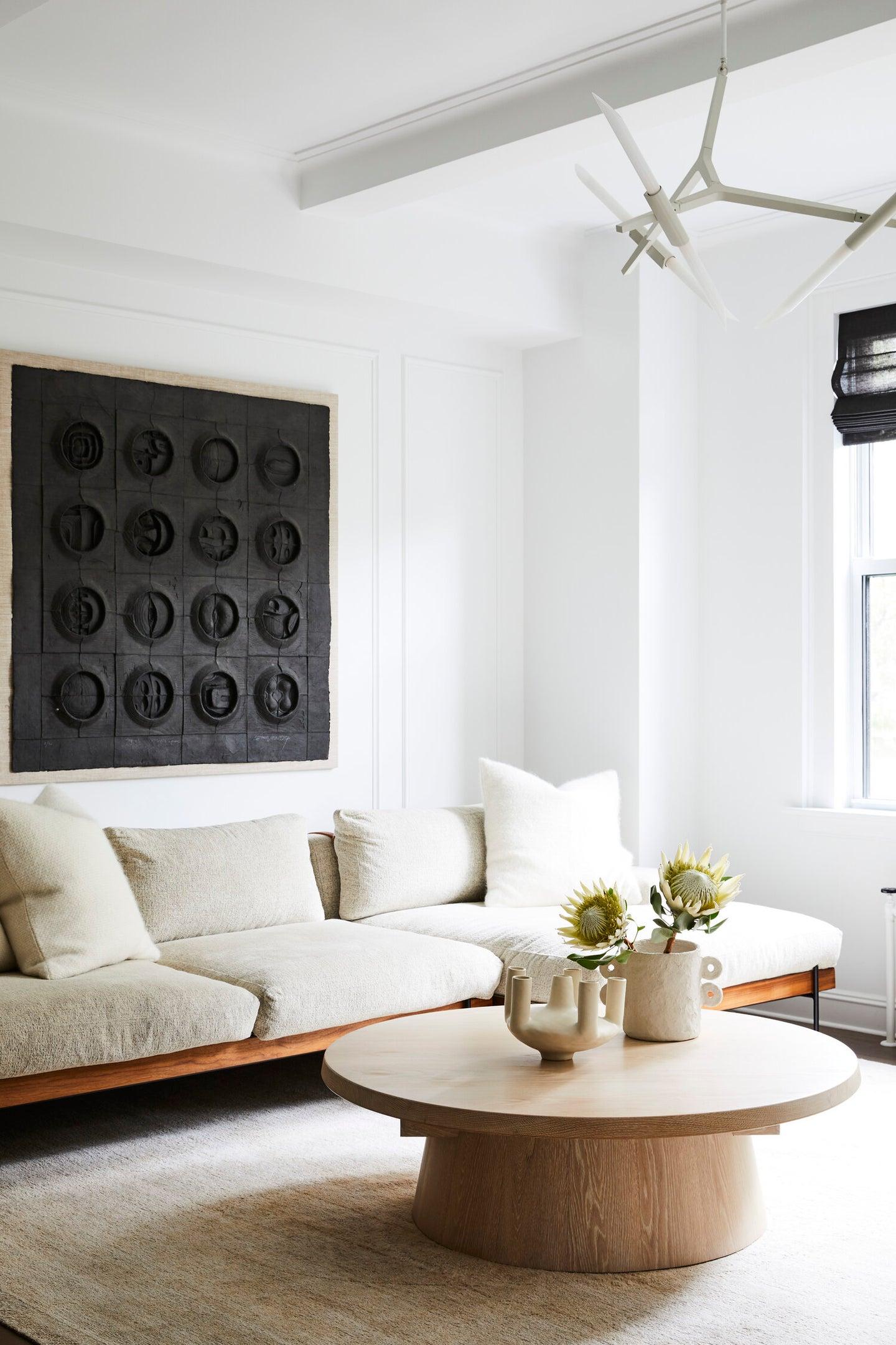 Spacious, minimal living space