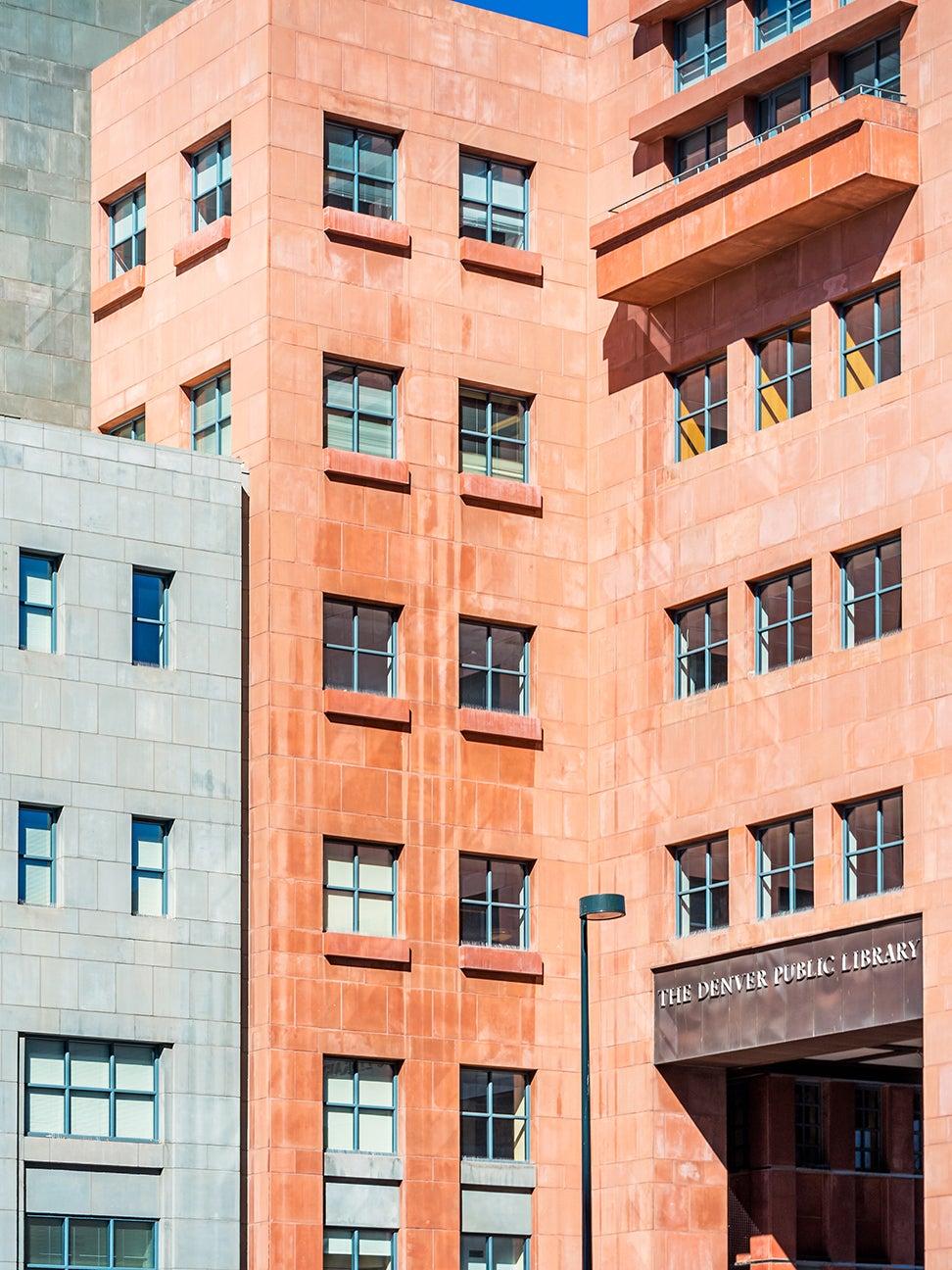 colorful buildings in Denver