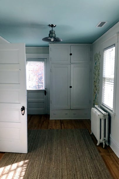 Before: Cramped Bedroom