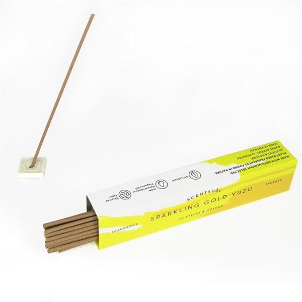 Sparkling Gold Yuzu incense