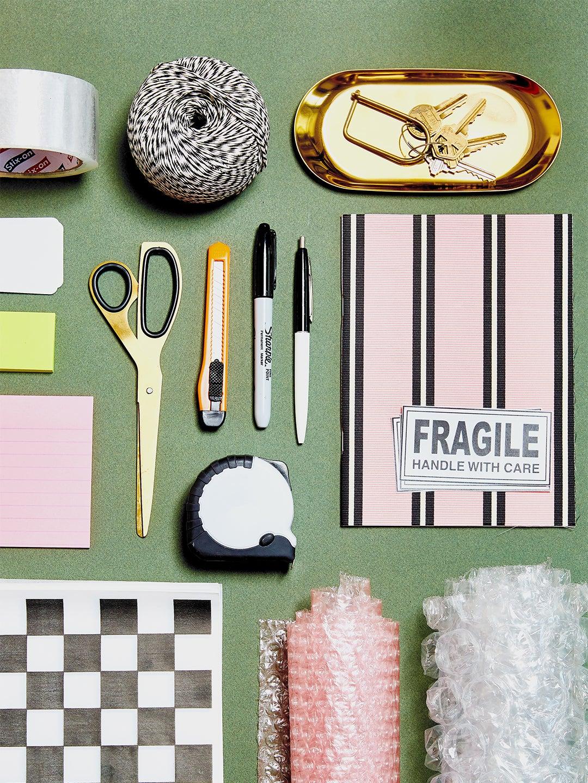 Assorted organizing tools