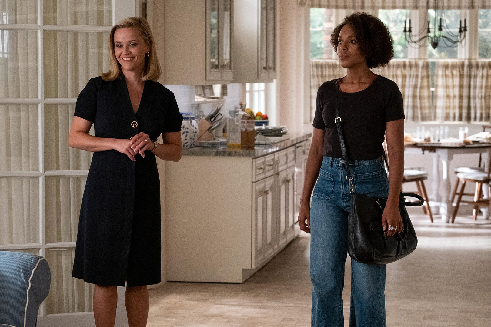 Reese Witherspoon and Kerry Washington