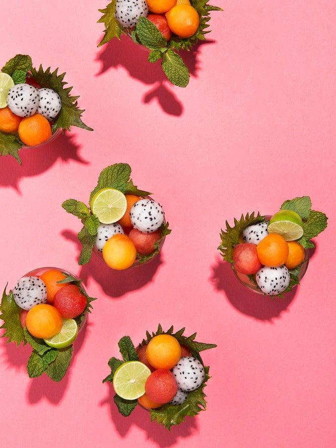 mini fruit cups