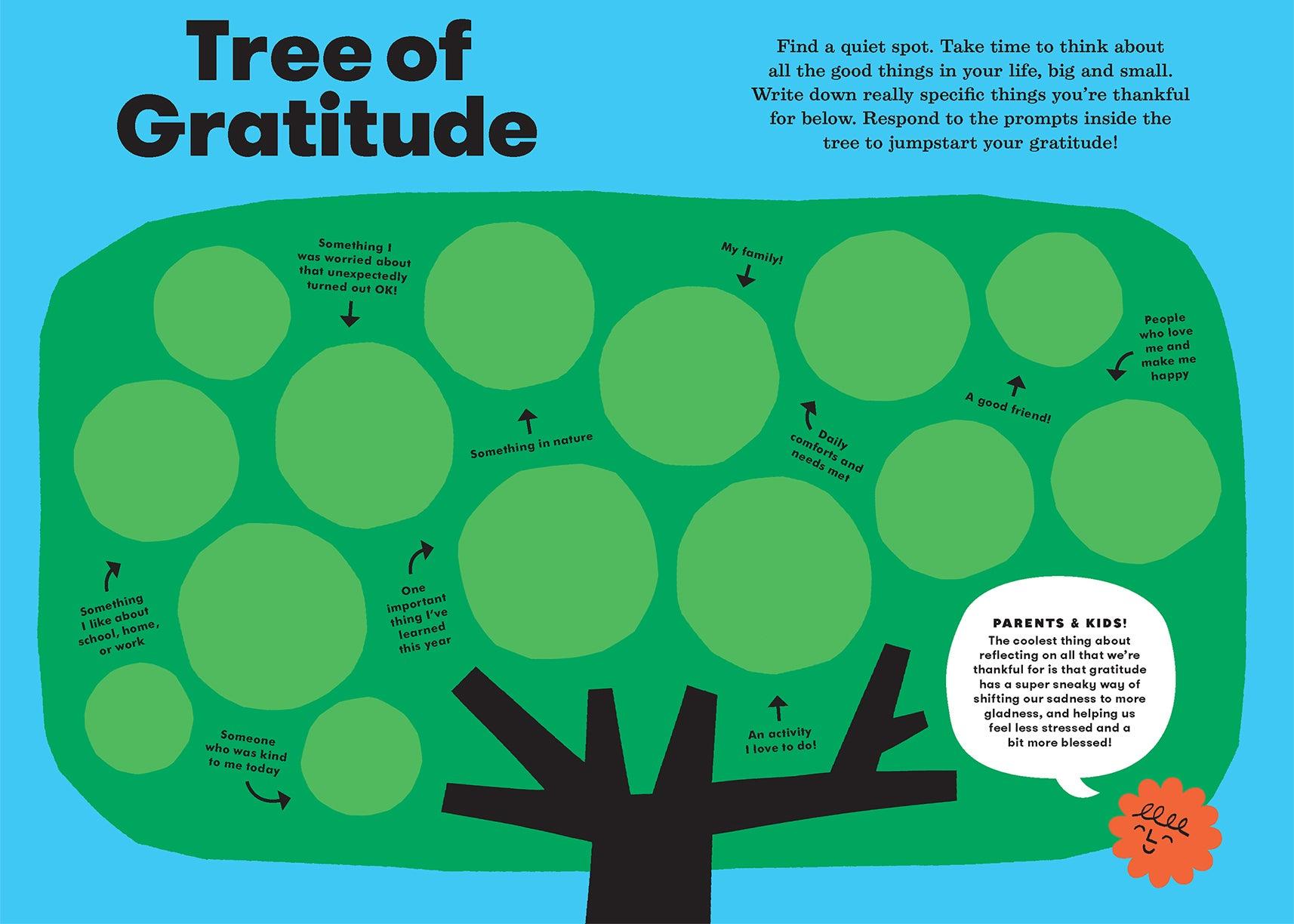 Gratitude exercise fill-in