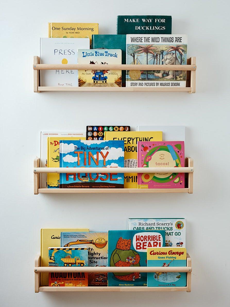 kids room bookshelves