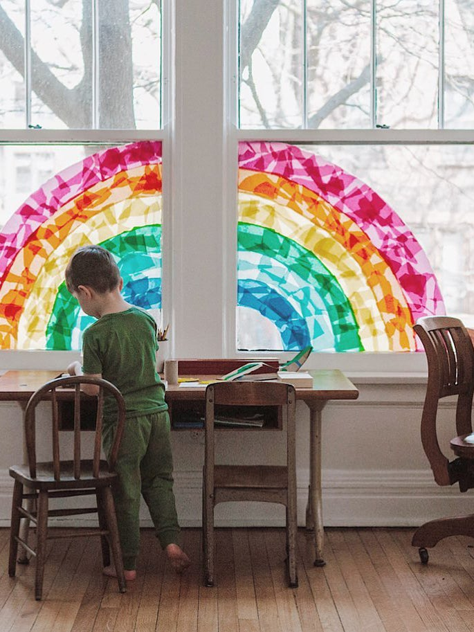 rainbow-decorations-covid-domino