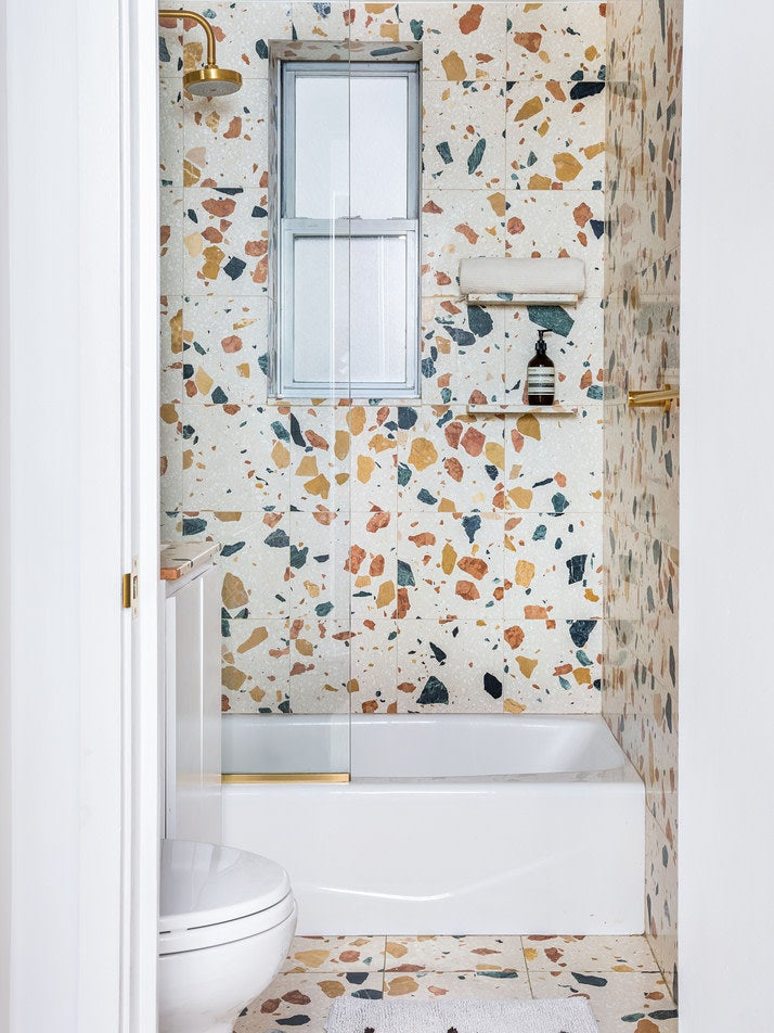 Bathroom with terrazzo