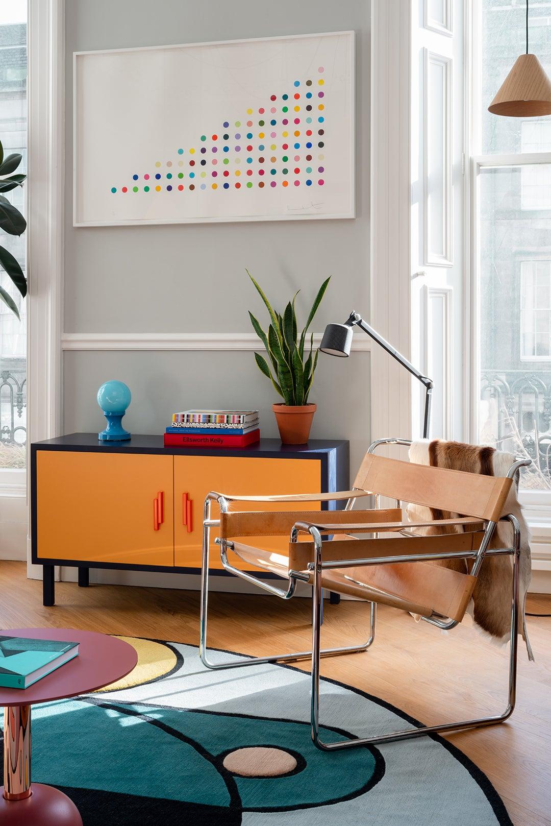 Sam Buckley's Edinburgh apartment