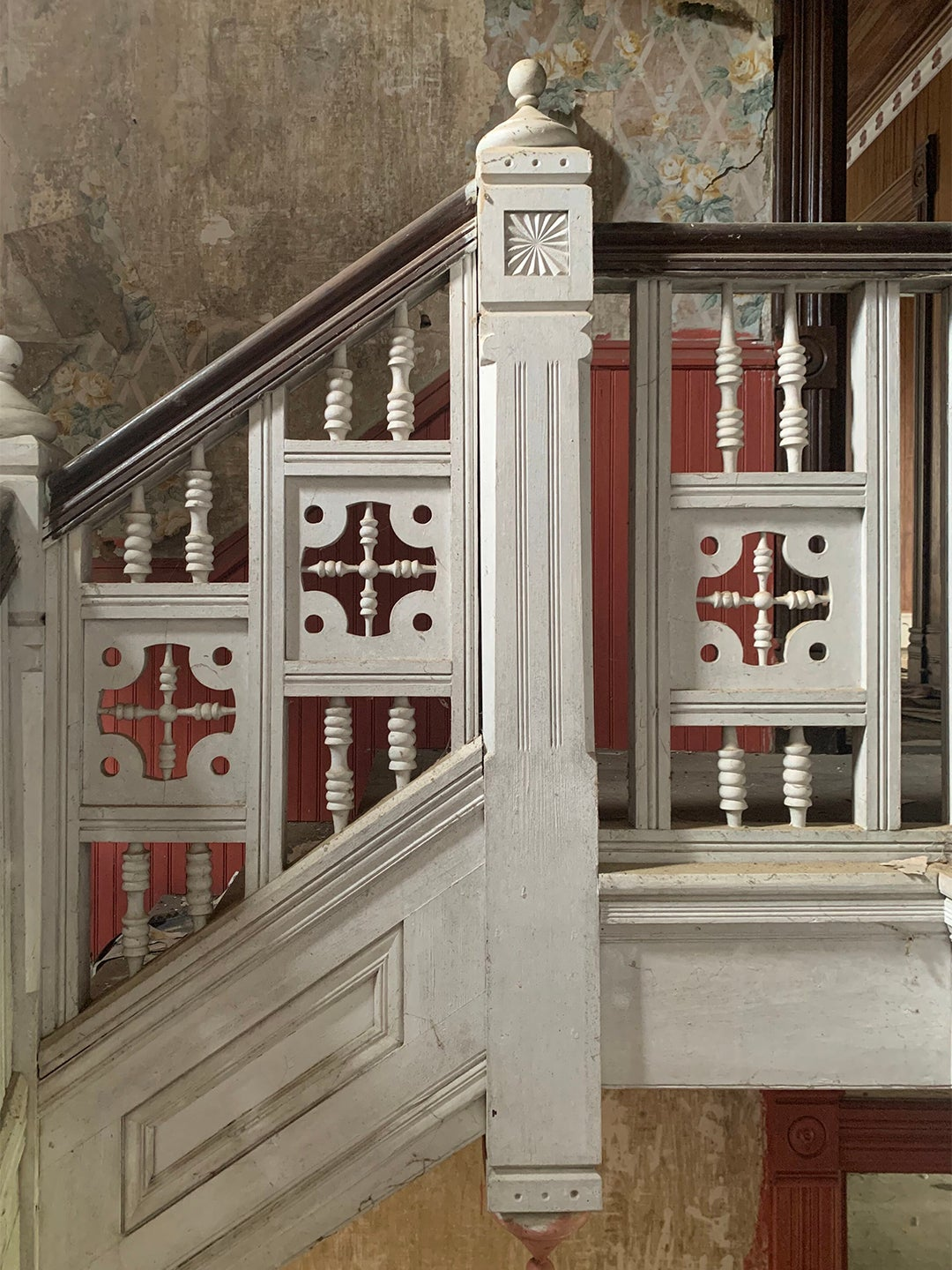 Old fashioned staircase