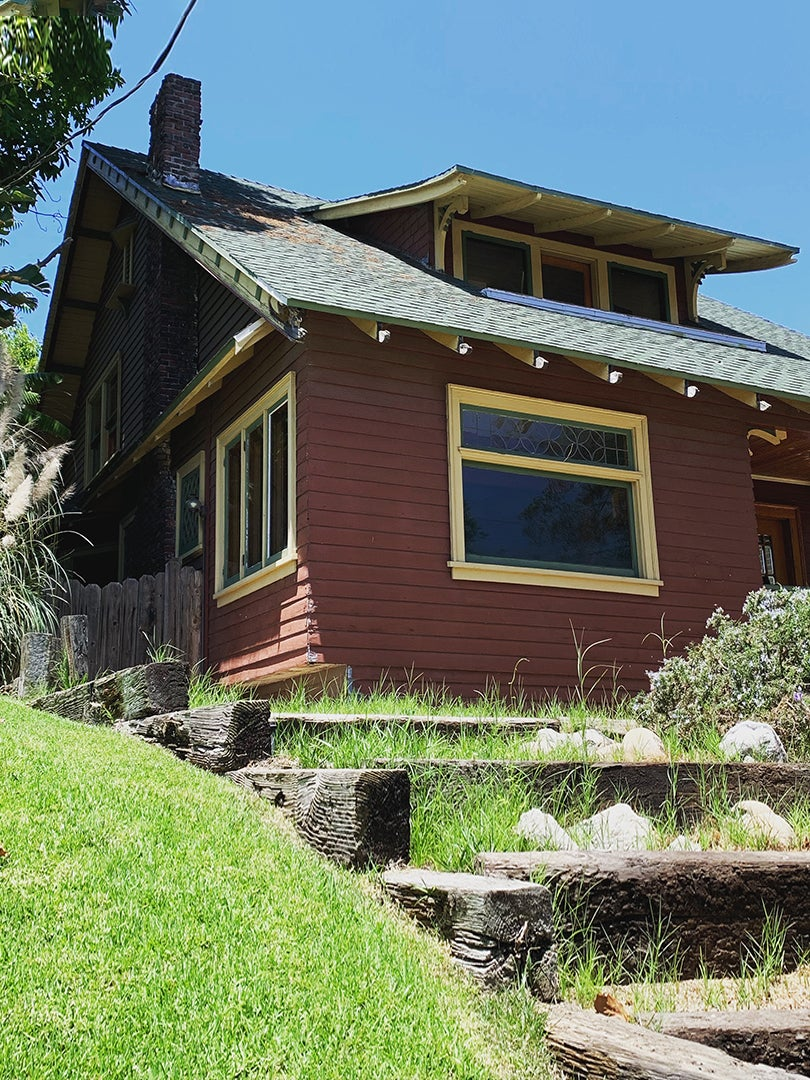 red craftsman home