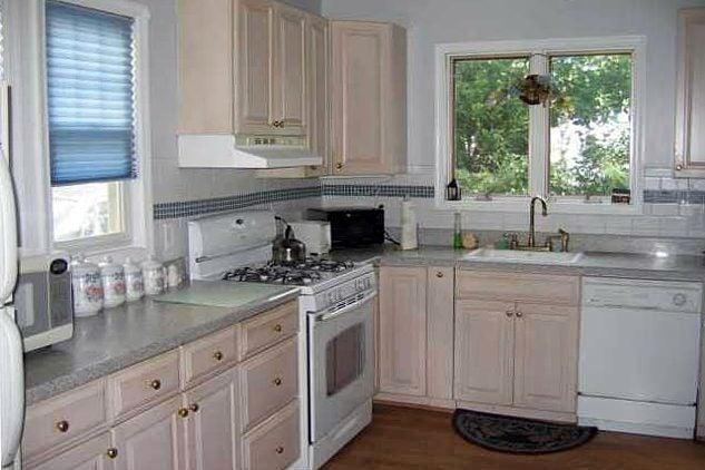 Unrenovated Kitchen Before