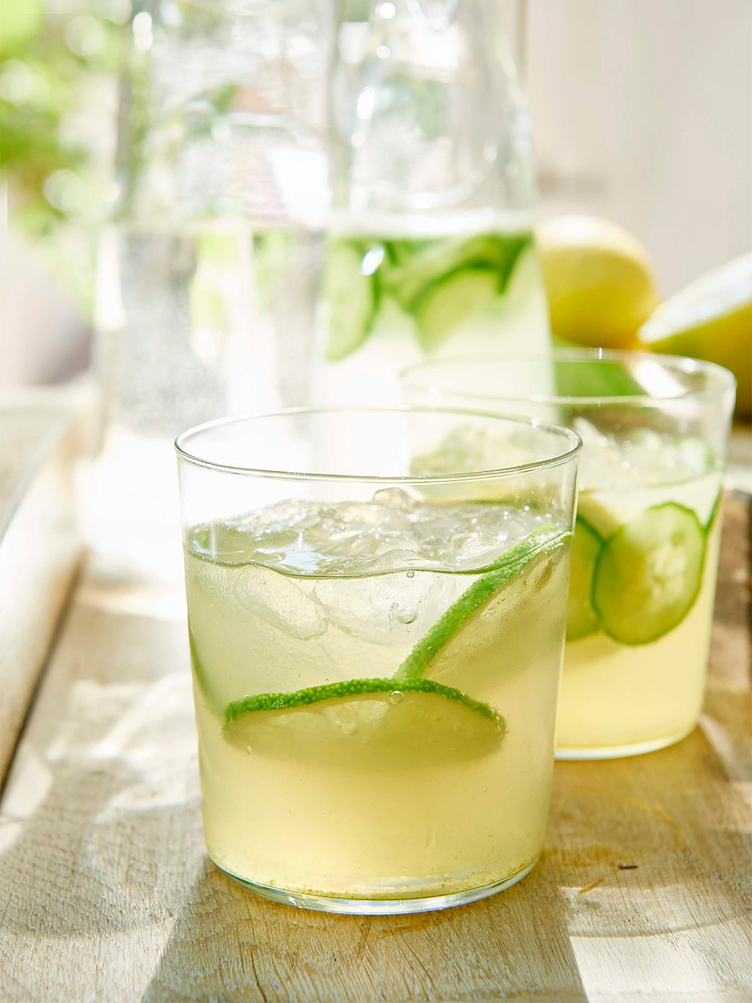 Martha Stewart's Rhubarb Spritz, Plus 4 More Celeb-Mixed Couch Cocktails