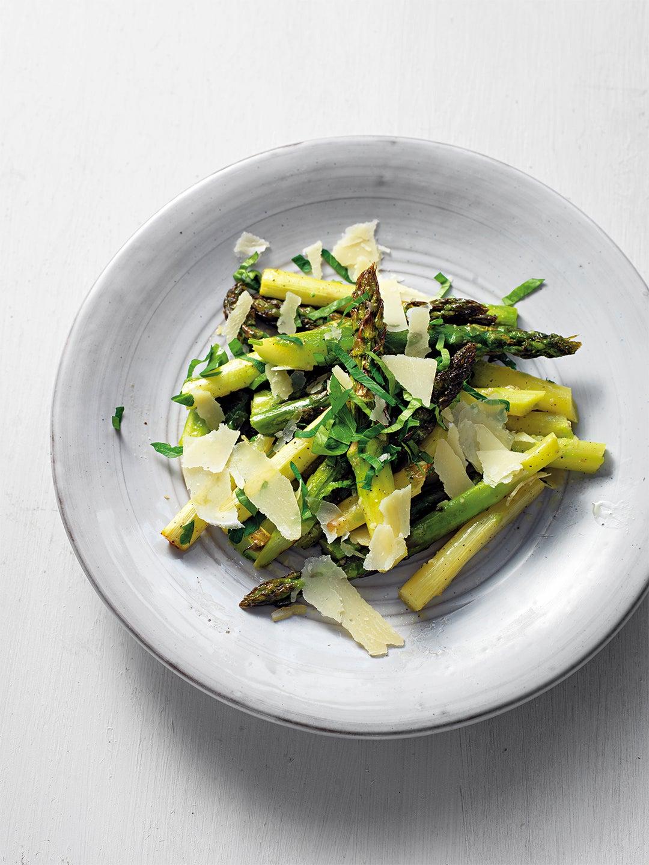 Asparagus Parmesan Salad