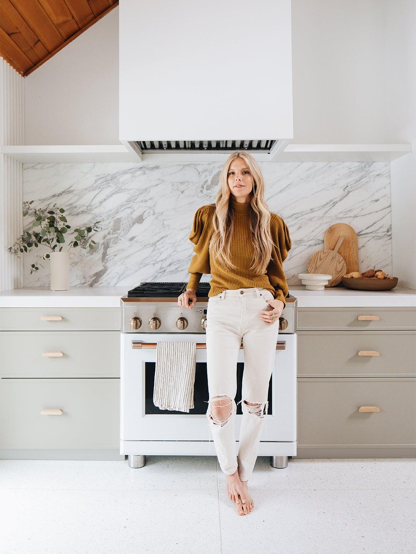 Sarah sherman Samuel tan kitchen