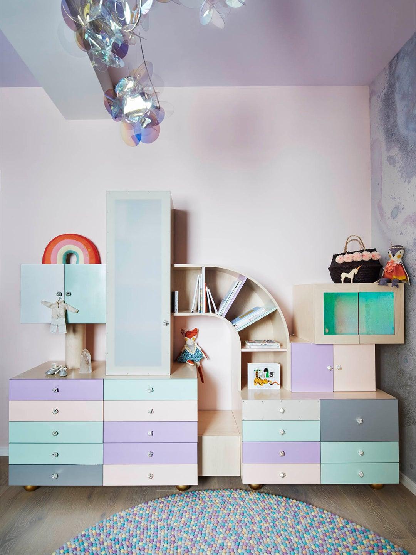 Jessica Ayromloo multi-colored custom storage piece