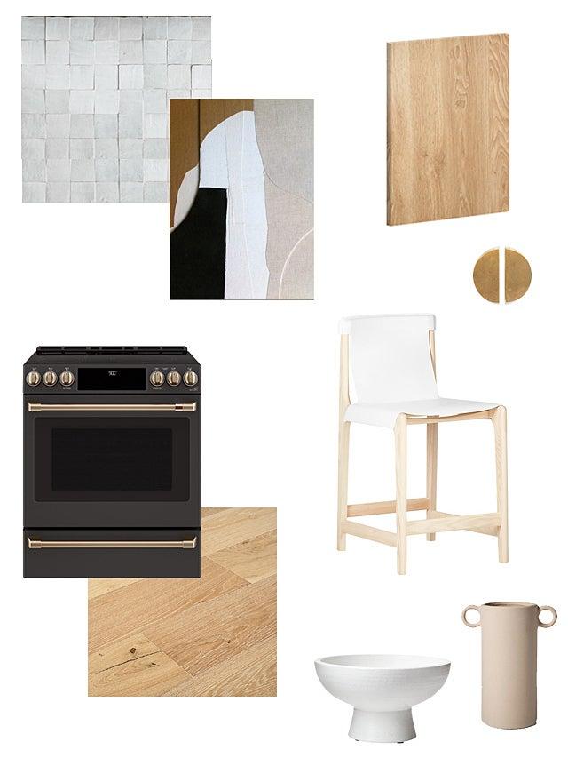 moodboard for kitchen reno