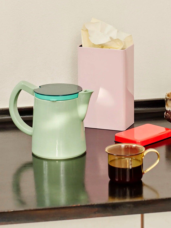 Hay coffee pot