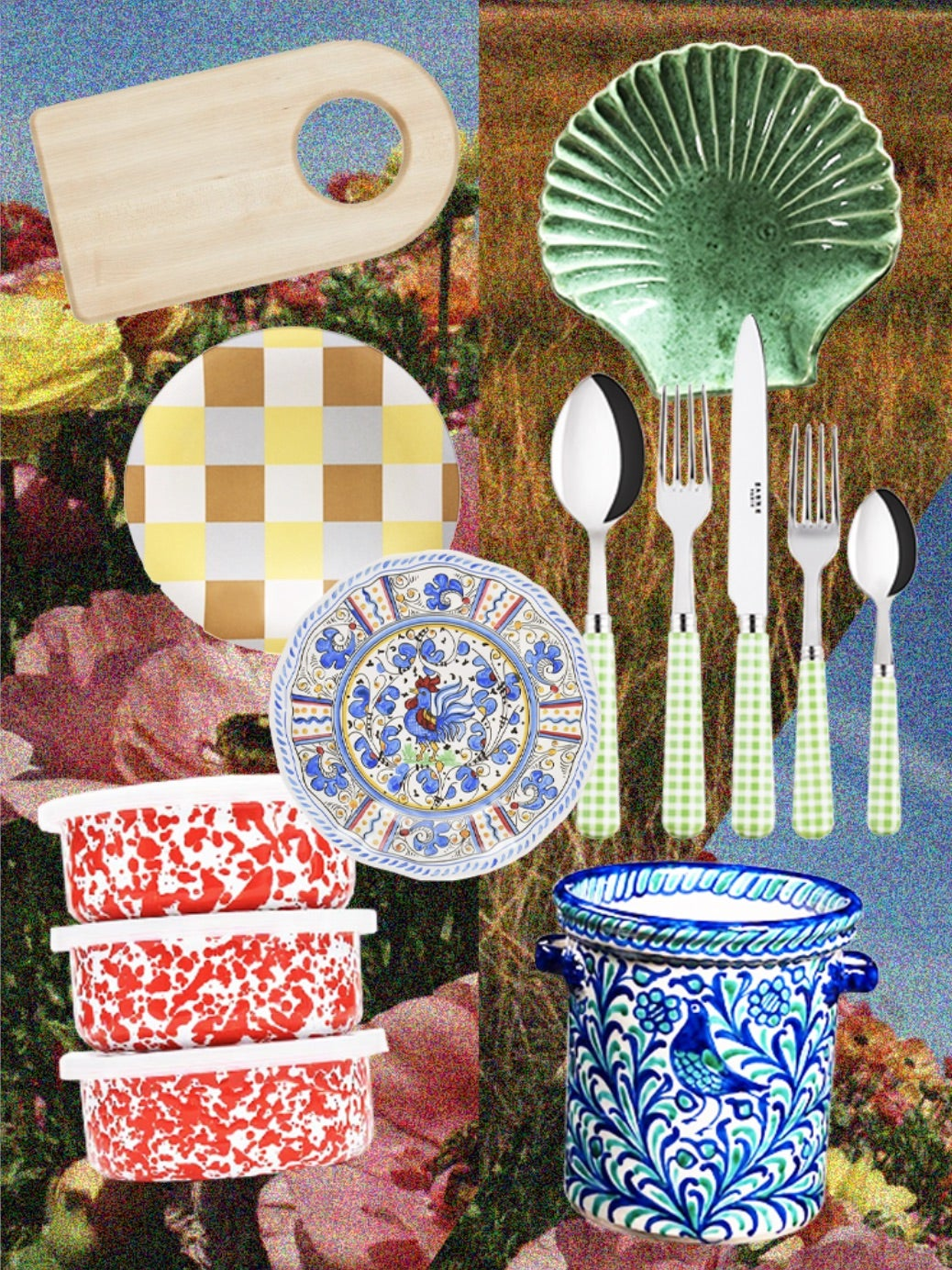 The Perfect Backyard Picnic Requires Splatter-Paint Tupperware