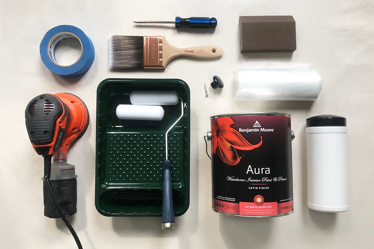 Tools for painting cabinets