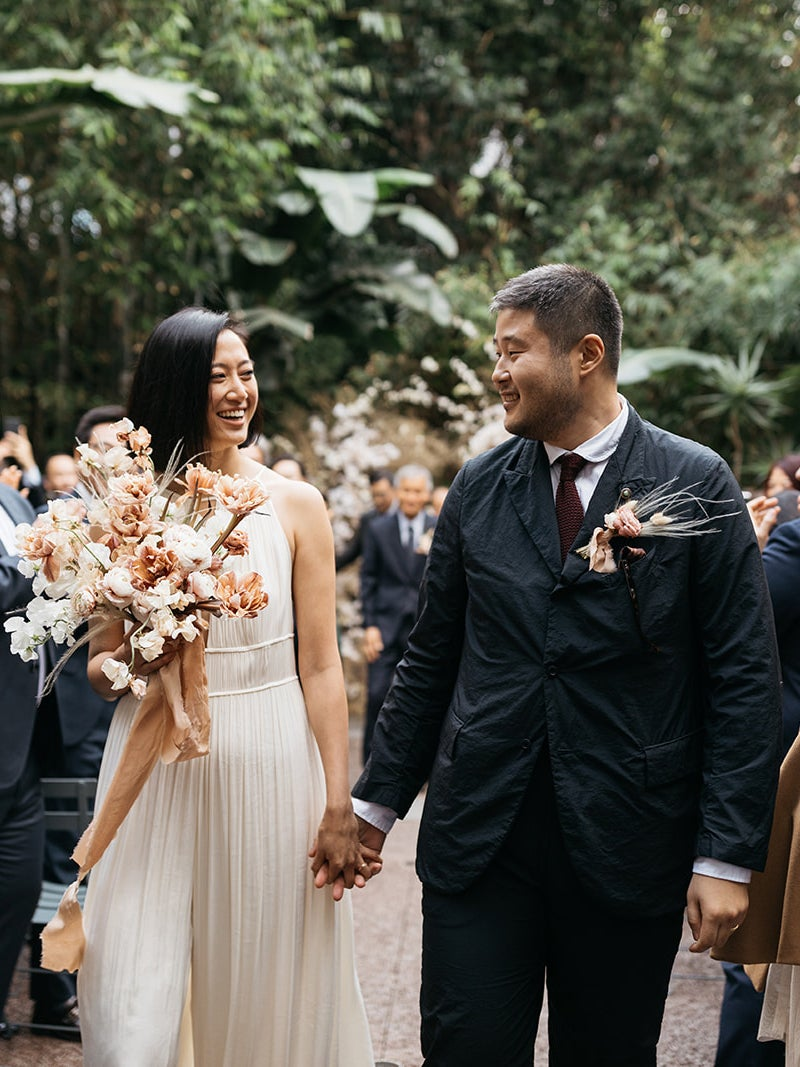 This Couple Skipped the Cake, But Their L.A. Wedding Was Still Epic