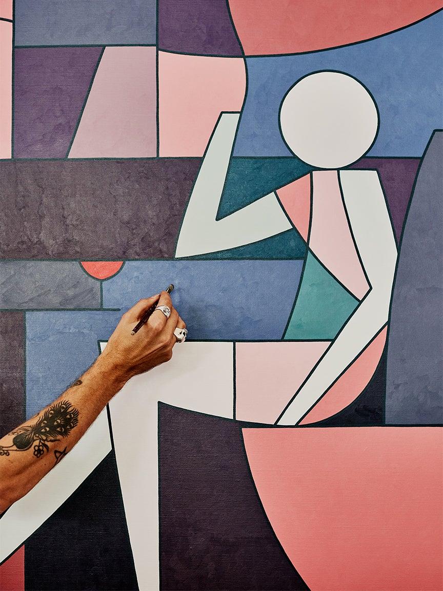 Stephen Baker's artwork