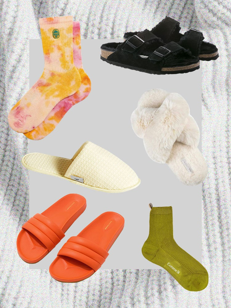 Socks and Slippers Are the New Shoes, So Here Are Our Favorite Combos