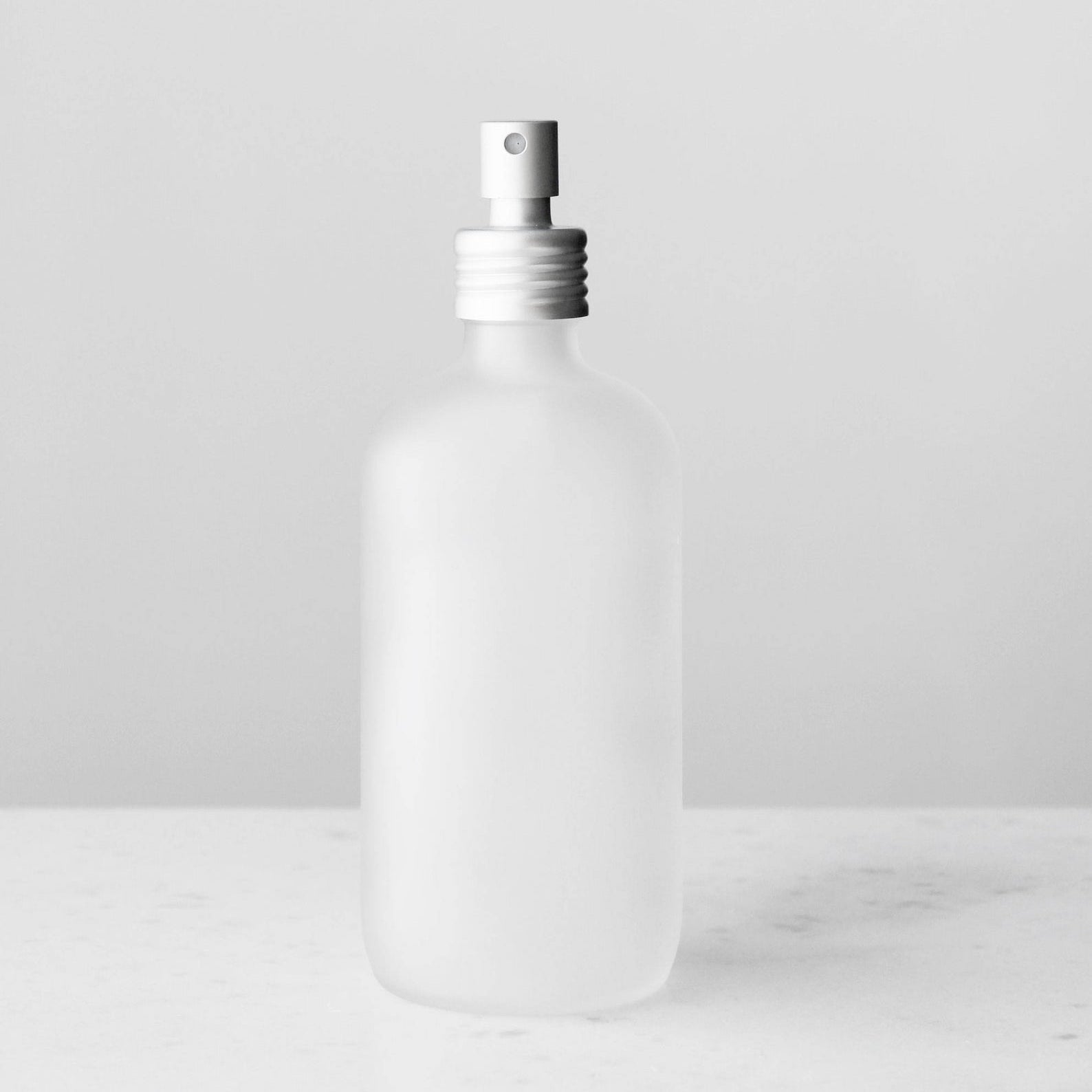 Small Frosted Glass Spray Bottle