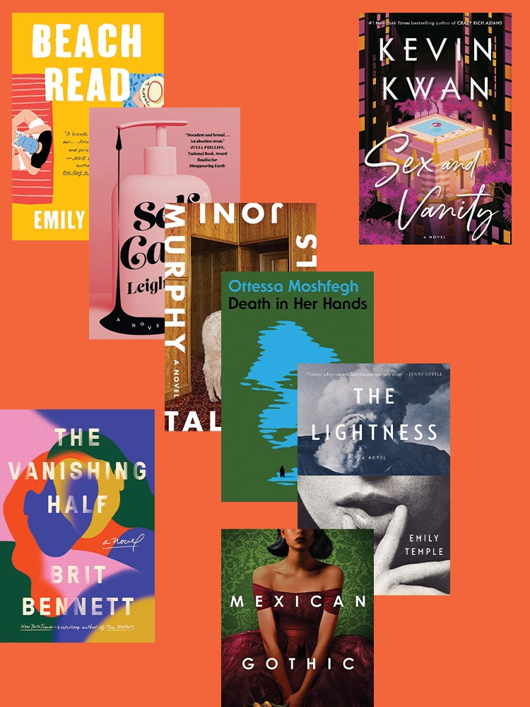 Summer book covers