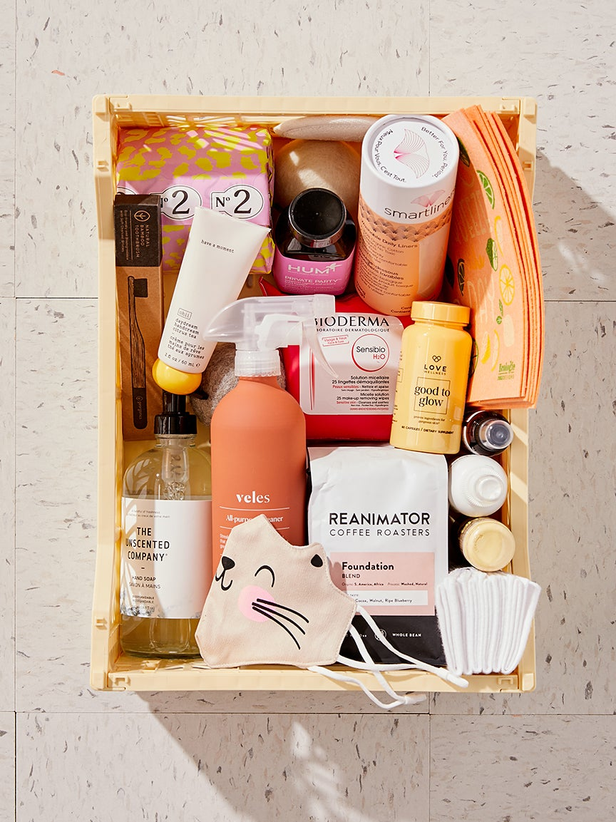 wellness products in a box
