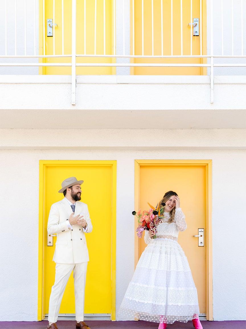 Couple Bryan and Madison Caselli