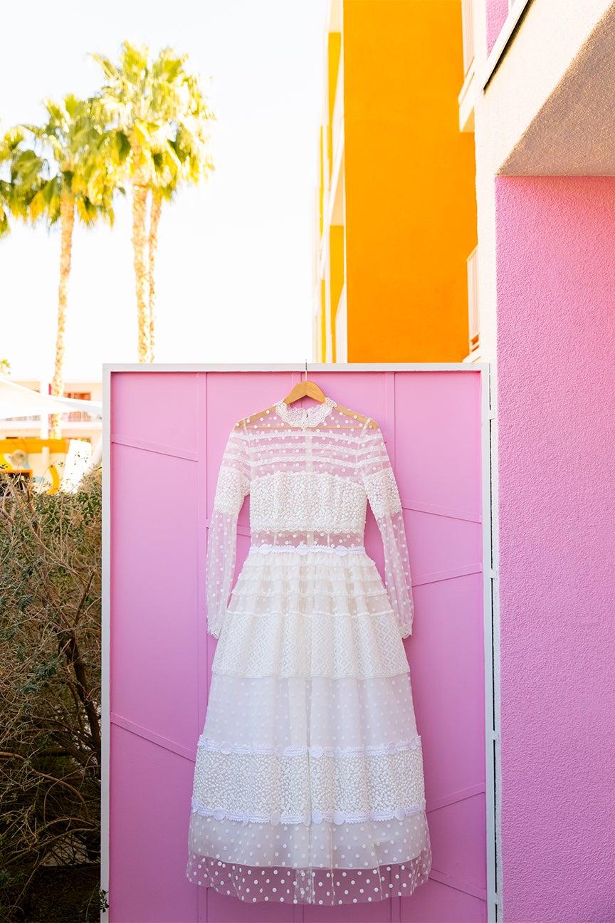 Madison's dress