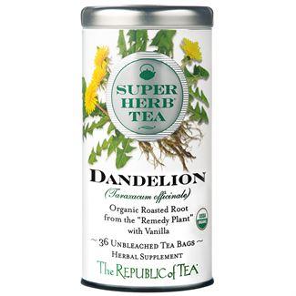 Organic Dandelion SuperHerb Tea Bags