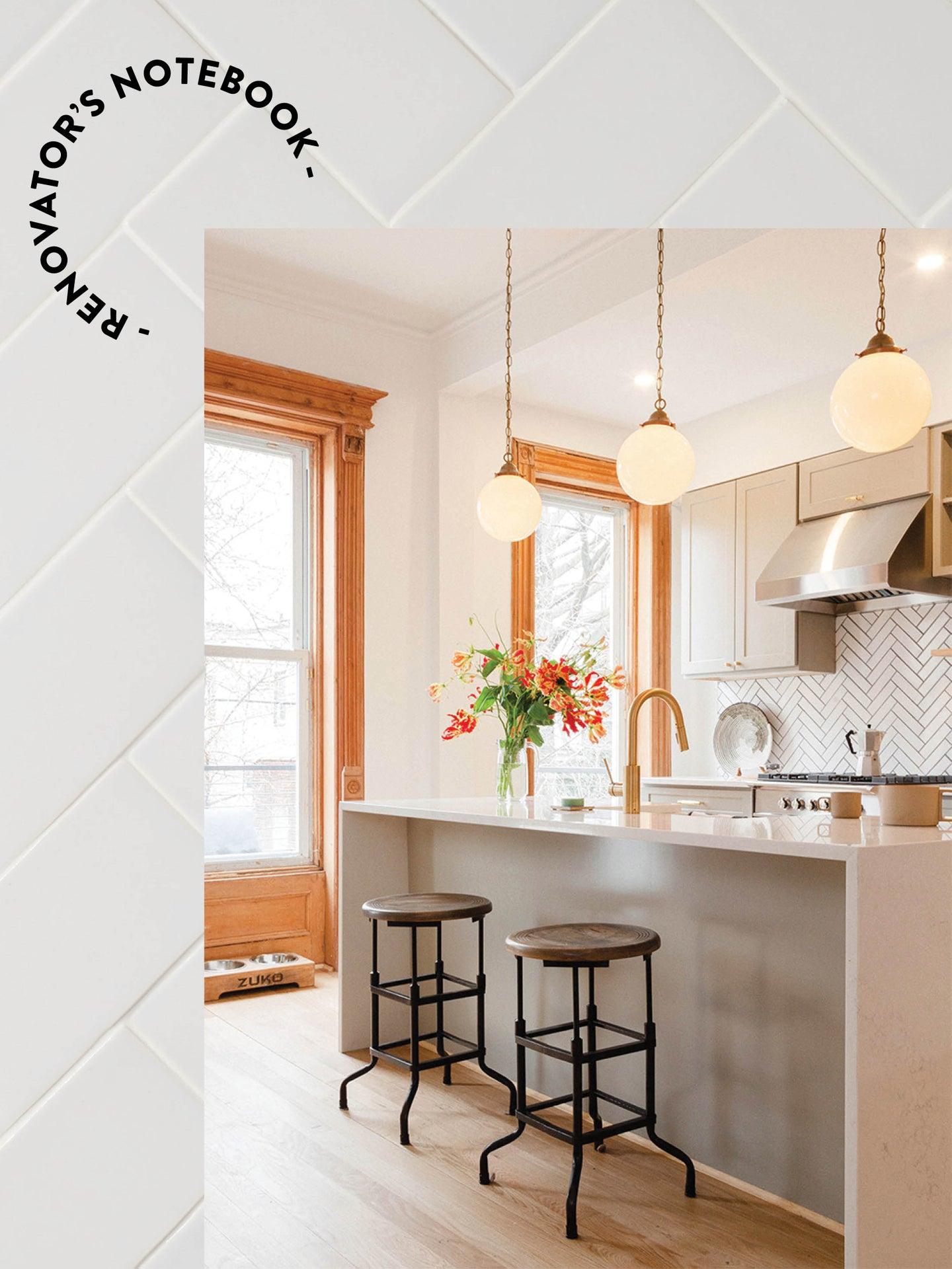 The Brownstone Boys Brooklyn kitchen