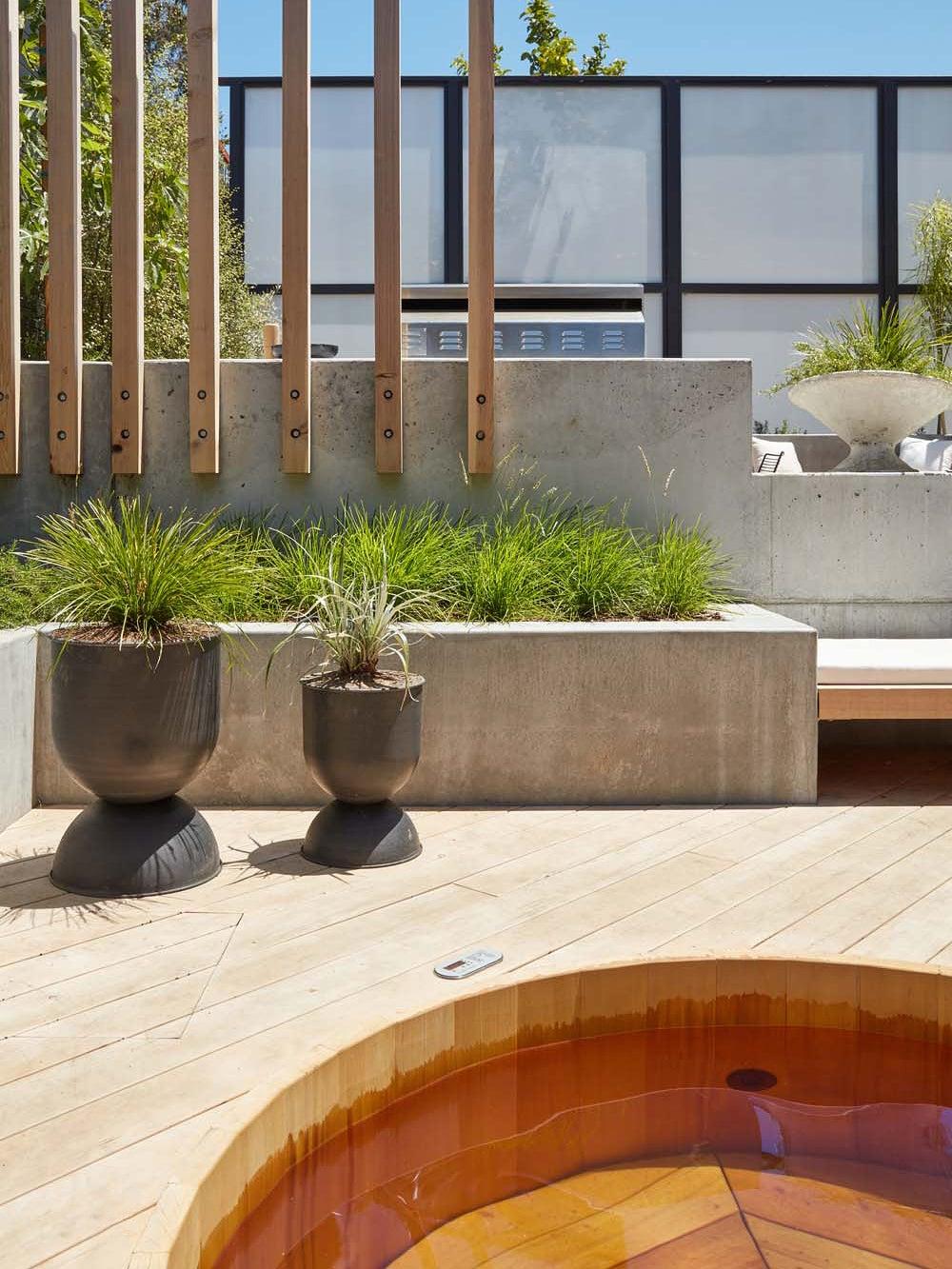 Erin Hiemstra's Japanese soak tub