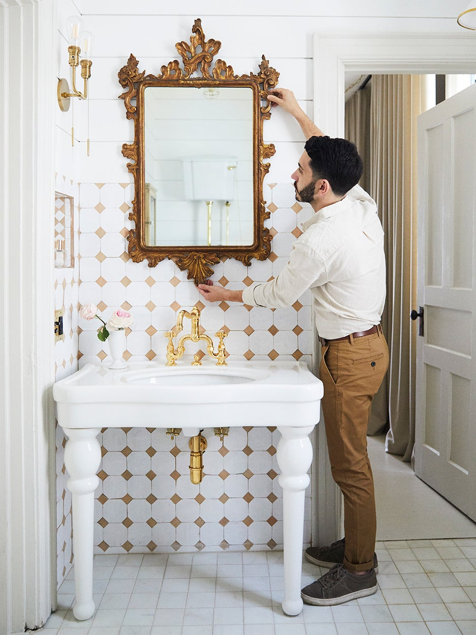 How I Gave My 80-Square-Foot Bathroom Vintage Charm With Mostly New Pieces