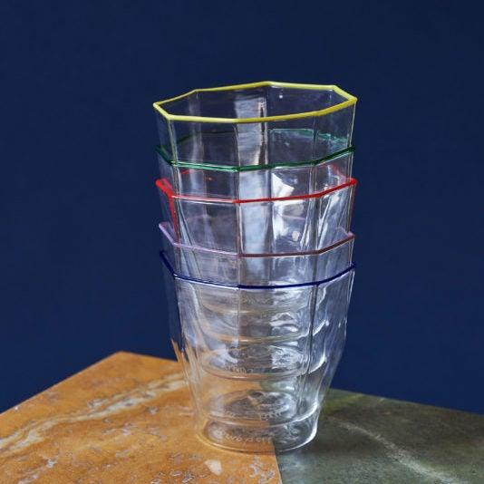 Luke – Rosanna Murano Glass Collection – Coloured Rims