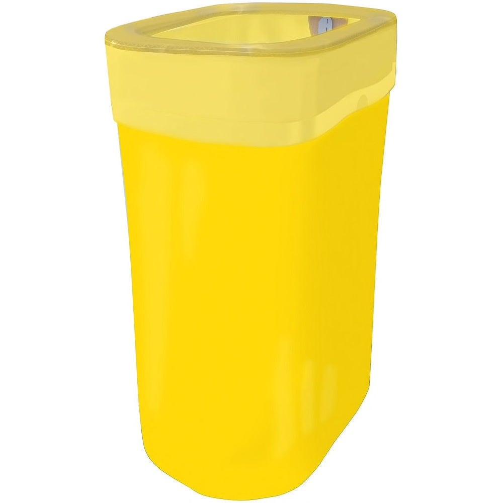 Meghan – Yellow Pop-Up Trash Bin
