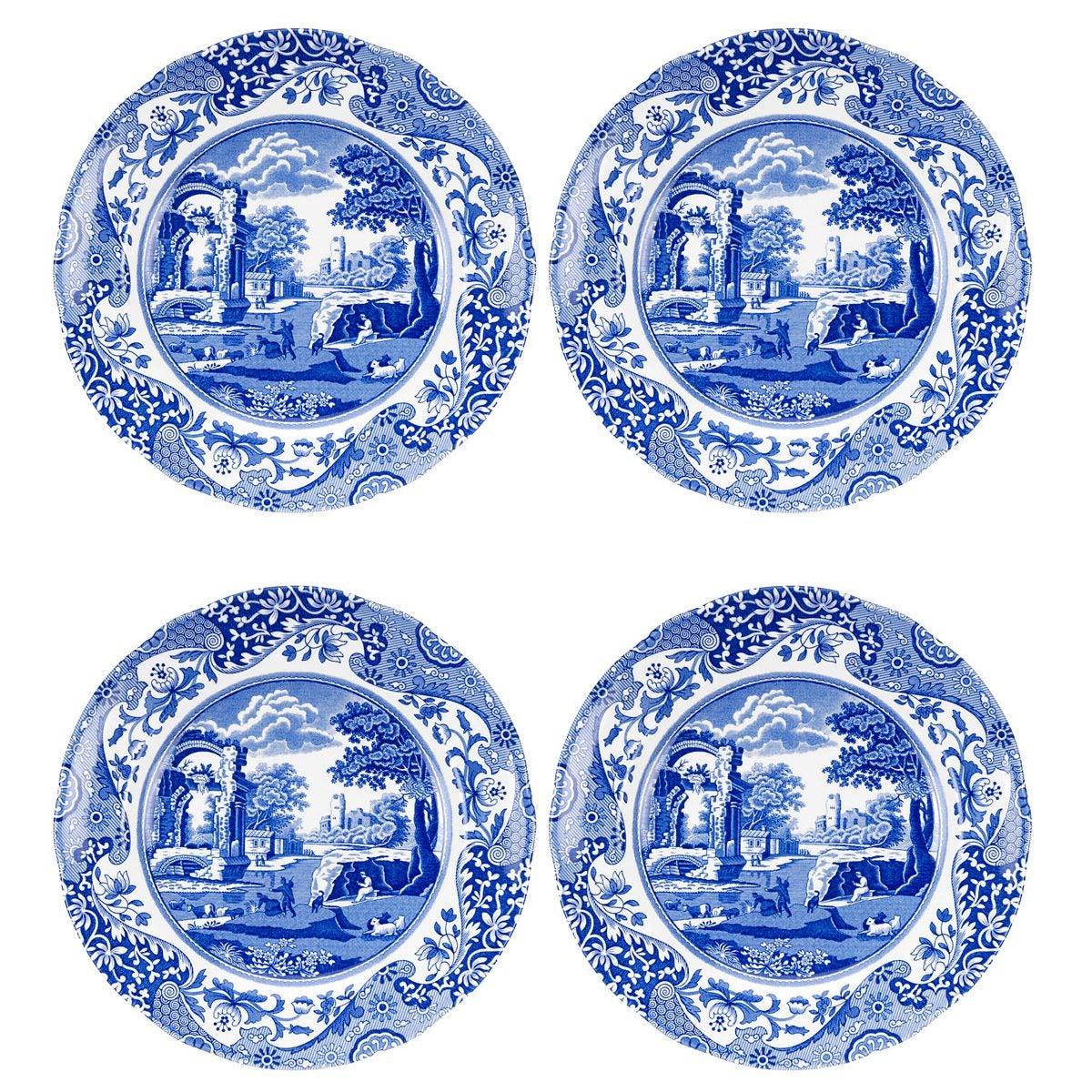 Paula – Blue Italian Salad Plate