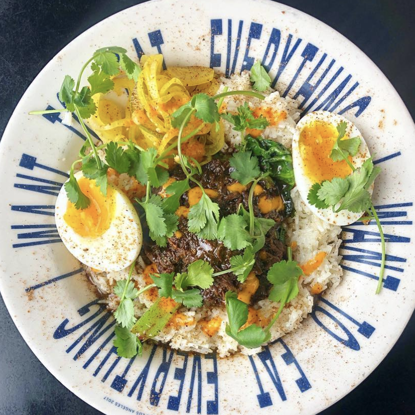 rice bowl with egg