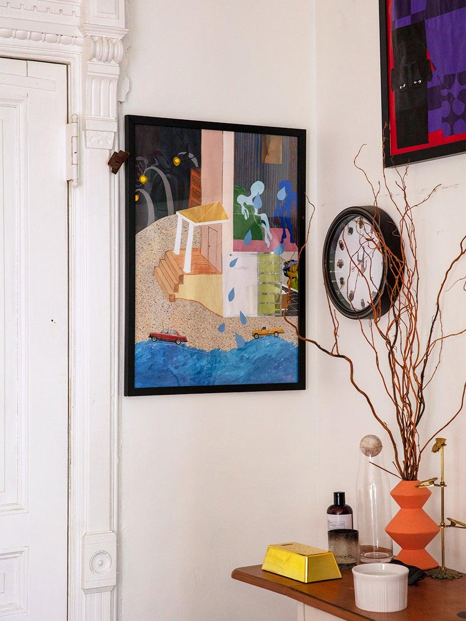 Painting in corner