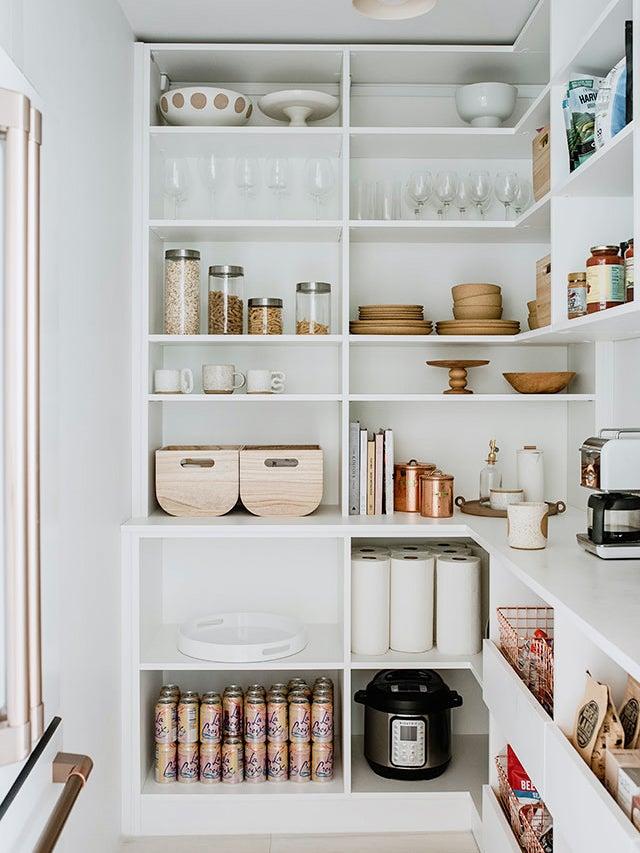 Minimalist pantry